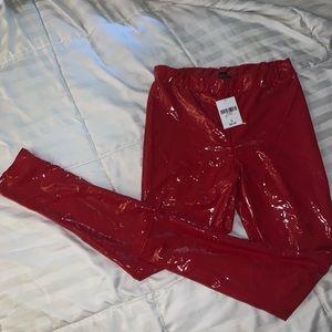 Forever 21 Pants - Red leggings